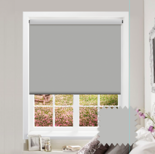 Grey Roller Blind - Bahamas Pale Stone